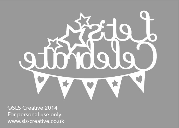 Free paper cut template lets celebrate sls creative you can download your copy here maxwellsz