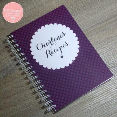 Recipe Book SLS Creative