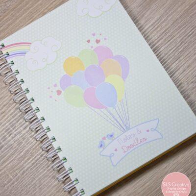 Pastel Rainbow Notebook SLS Creative