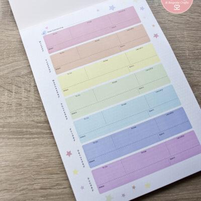Pastel Weekly Planner SLS Creative
